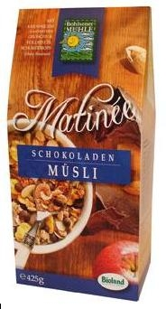 Musli bio Matinee cu ciocolata