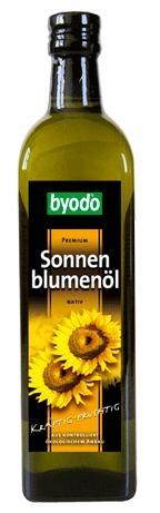 Ulei premium bio de floarea soarelui natural