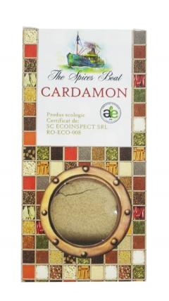 Condiment bio - cardamon macinat