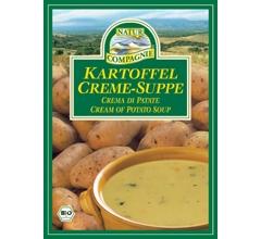 Supa crema bio de cartofi, plic (2 portii)