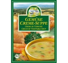 Supa crema bio de legume, plic (2 portii)