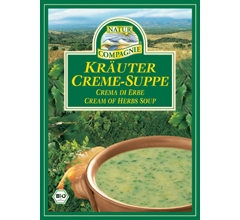 Supa crema bio cu ierburi, plic (2 portii)