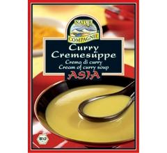 Supa crema bio Asia cu curry, plic (2 portii)