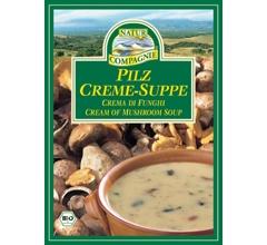 Supa crema bio cu ciuperci, plic (2 portii)