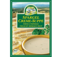 Supa crema bio cu sparanghel, plic (2 portii)