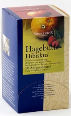 Ceai bio fructe macese si hibiscus