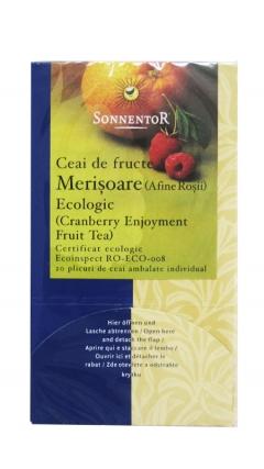 Ceai bio fructe merisoare