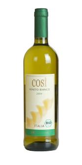 Vin bio alb Cosi bianco Veneto