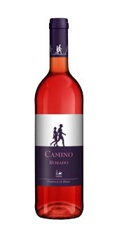 Vin bio rose Camino rosado Spanien