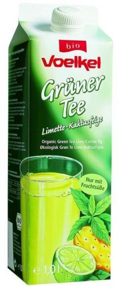 Ice tea bio verde