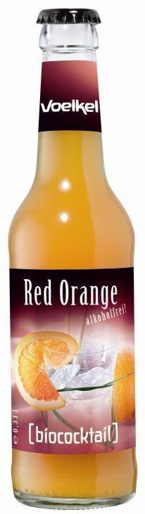 Cocktail bio de portocale rosii