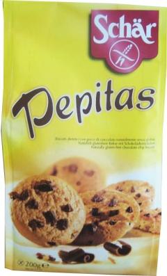 Biscuiti fara gluten Pepitas cu ciocolata