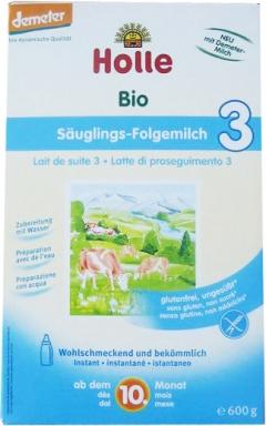 Lapte bio instant pentru sugari Formula 3