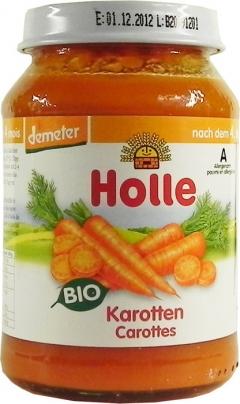 Meniu piure bio morcovi