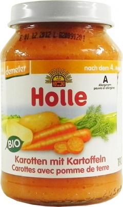 Meniu piure bio morcovi - cartofi