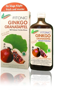 Elixir bio tonic cu ginkgo biloba si rodie